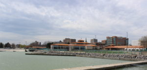 City of Racine downtown skyline